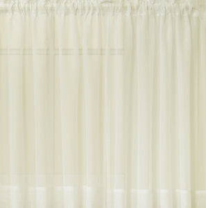Emelia Sheer Grommet Panel - 059x084 Ecru C26924- Marburn Curtains
