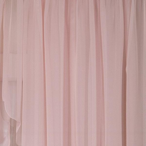 Emelia Sheer Voile Rod Pocket Swagger - 090x063 Rose C31934- Marburn Curtains
