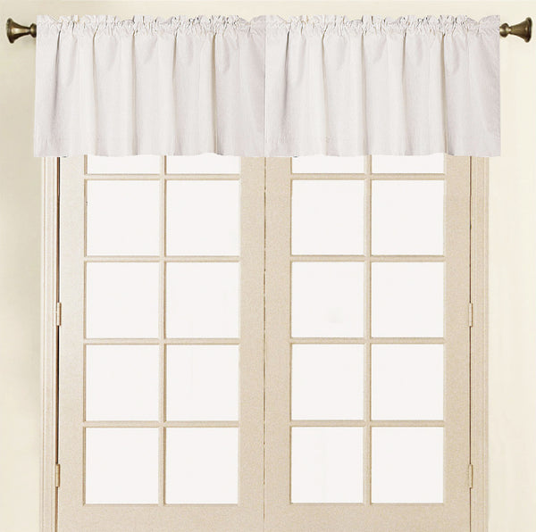 Felicity Foamback Rod Pocket Panel/Valance - Valance 052x017 Beige C41288- Marburn Curtains