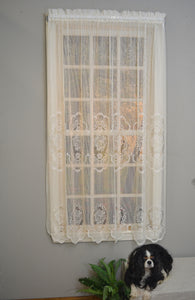 Fairmount Lace Rod Pocket Panel - - Marburn Curtains
