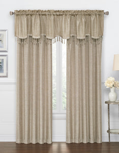 Gina Rod Pocket Panel - Panel 52x84 Gold C42285- Marburn Curtains