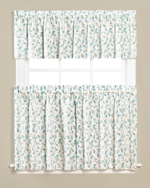 Gentle Wind Rod Pocket Tier - Multi 55x 24 c42454- Marburn Curtains