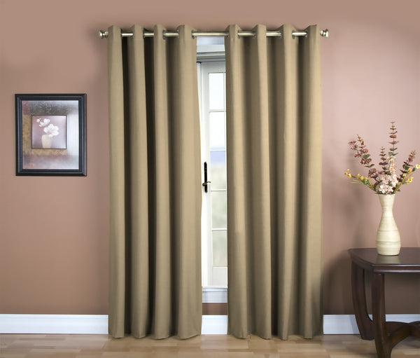 Glasgow Grommet Panel - 056x084 Harvest C27924- Marburn Curtains