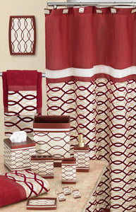 Harmony Fabric Shower Curtain - - Marburn Curtains