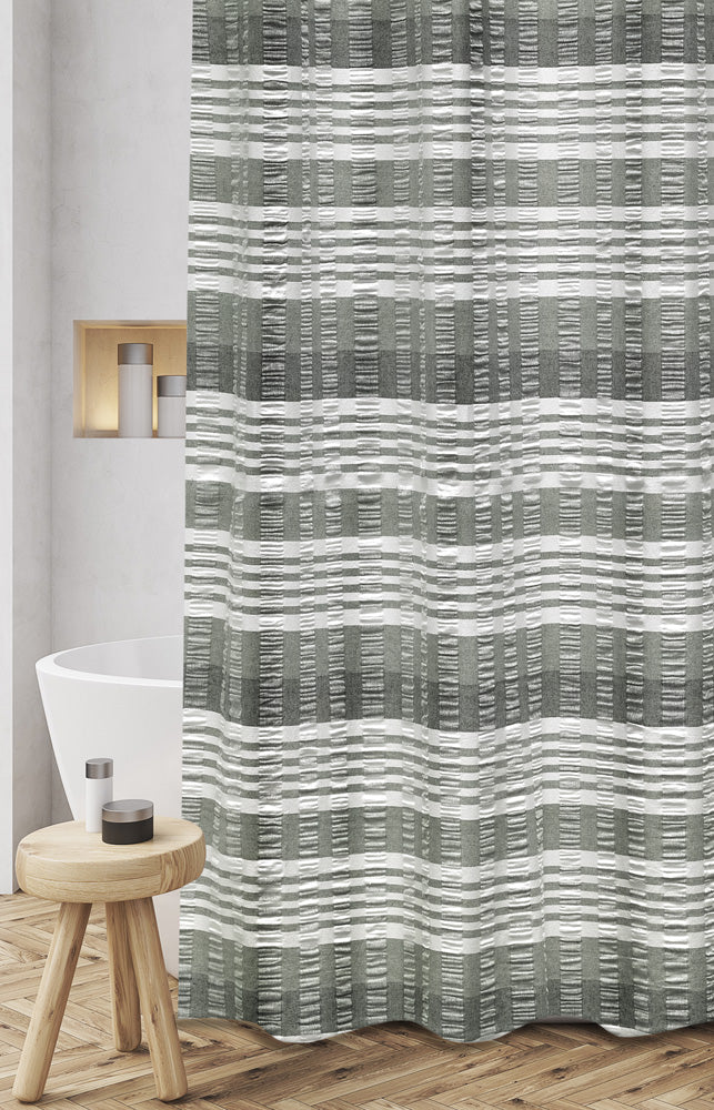 Huntley Fabric Shower Curtain