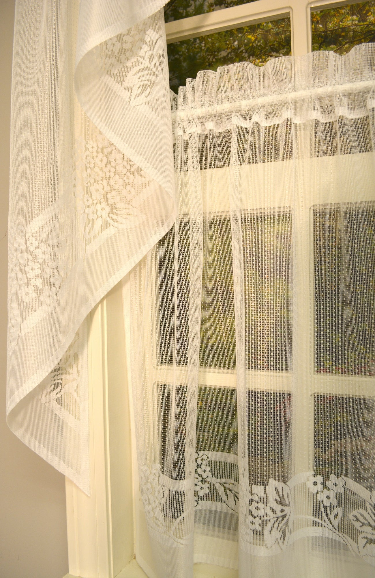 Hydrangea Lace Valance - - Marburn Curtains