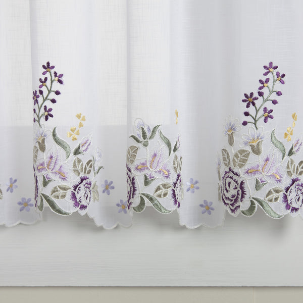 Isabella Rod Pocket Tier - - Marburn Curtains