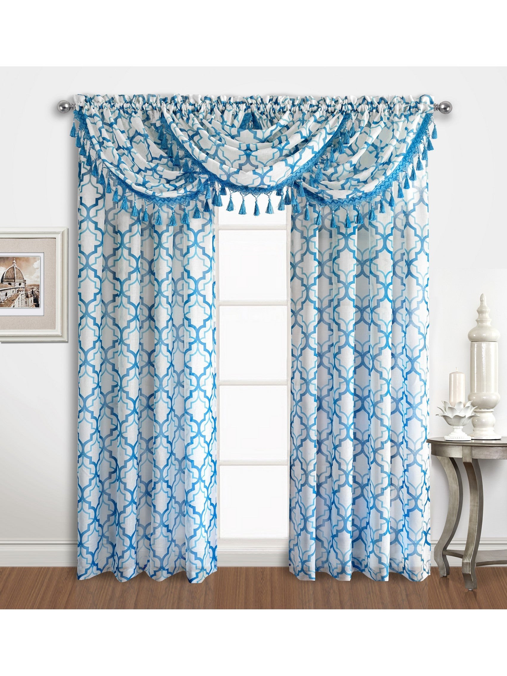 sxs marvelous pics for style uncategorized decorations idea floral curtains valance and blue navy design