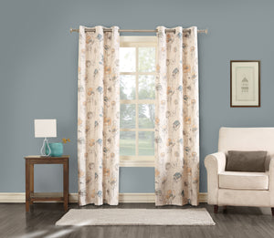Lila Foamback Grommet Panel - 040x084 Mineral- Marburn Curtains