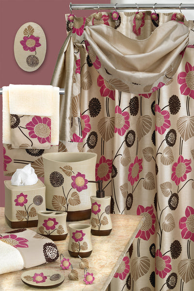 Lillian Fabric Shower Curtain - - Marburn Curtains