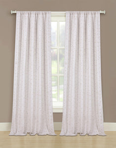 Marquee Linen Rod Pocket Panel w/Beads - 052x063 Linen/Gold C42241- Marburn Curtains