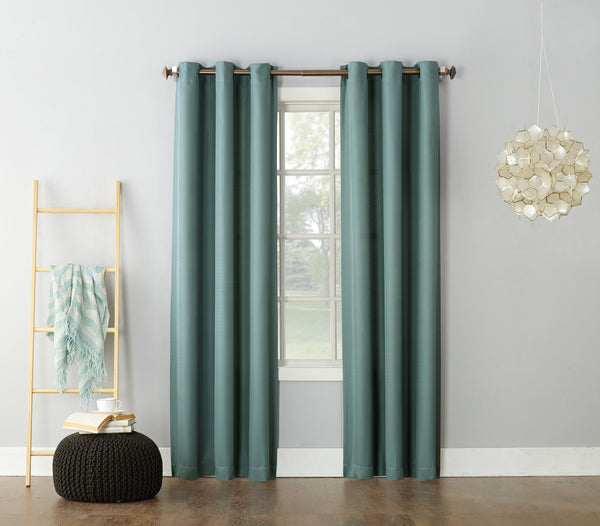 Montego Grommet Panel - 048x063 Mineral C40984- Marburn Curtains