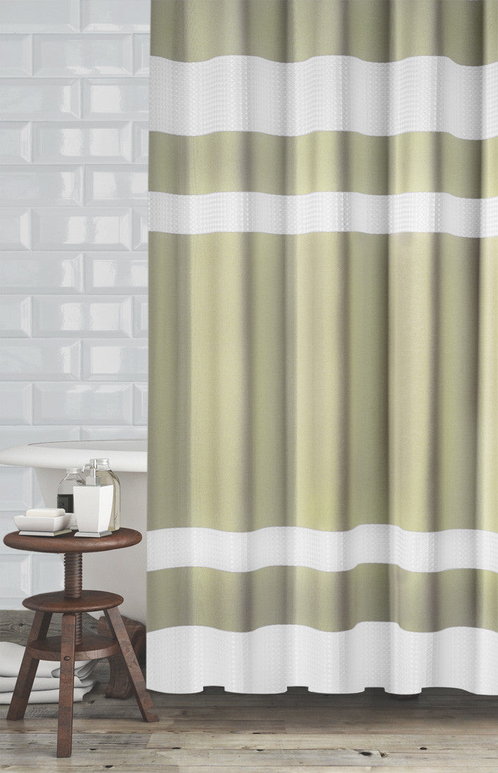 New England Fabric Shower Curtain Marburn Curtains