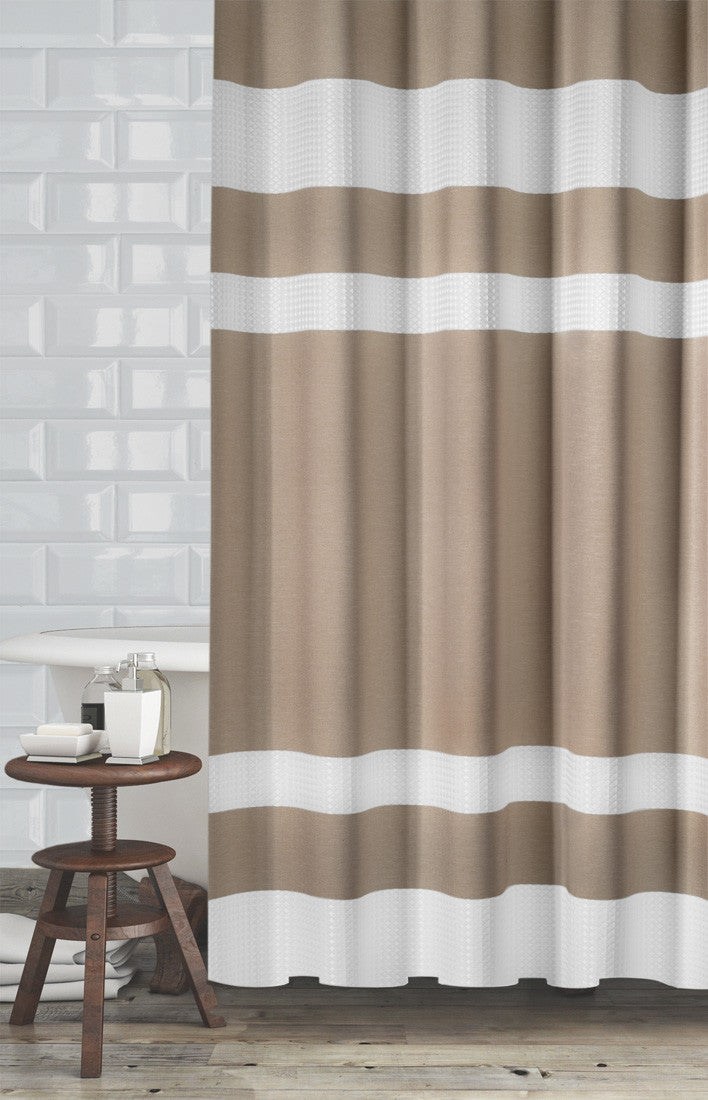 New England Fabric Shower Curtain – Marburn Curtains