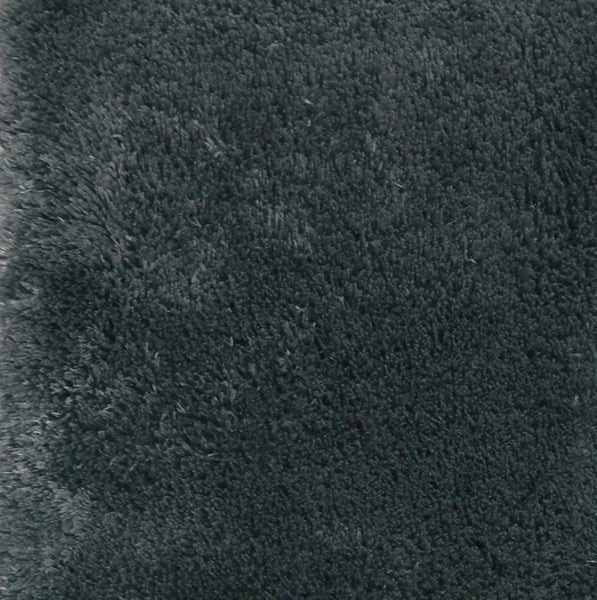 St. Lucia Plush Bath Rug Contour - Contour 020x020 Charcoal C41342- Marburn Curtains