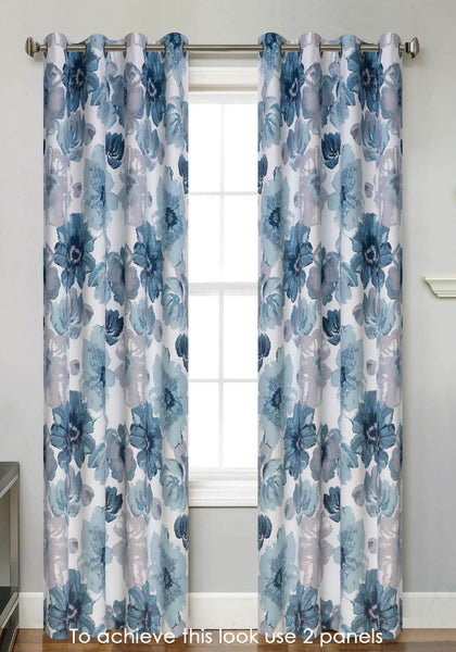 Sunshine Blackout Grommet Panel - 054x063   Spa C43800- Marburn Curtains