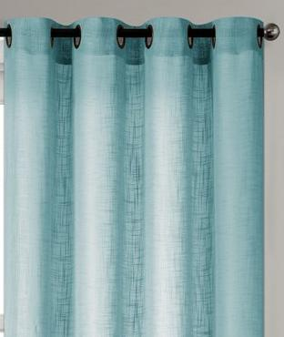 "Tranquility Semi-Sheer Solid Grommet Panel 84"" - - Marburn Curtains"
