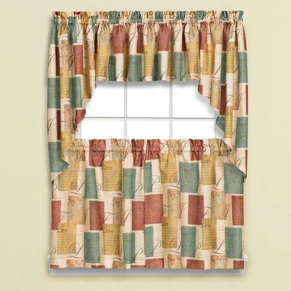 Tranquility Rod Pocket Tier - - Marburn Curtains