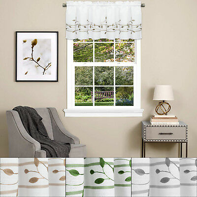 Trellis Rod Pocket Valance Toast - - Marburn Curtains