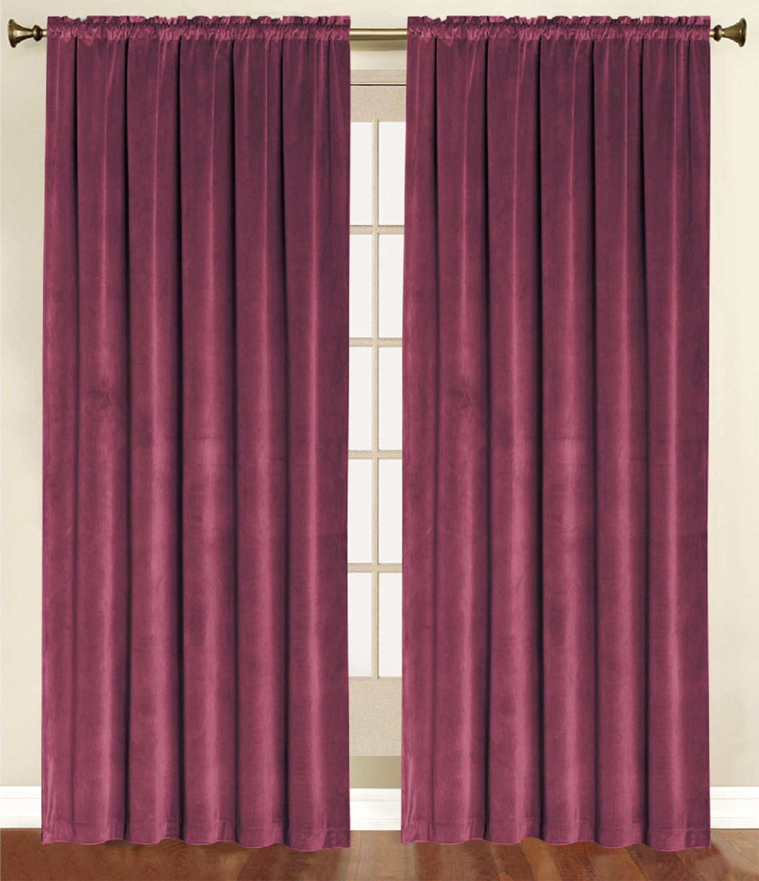 valance overstock orders jacquard on garden whitman burgundy valances shipping over park product madison home free