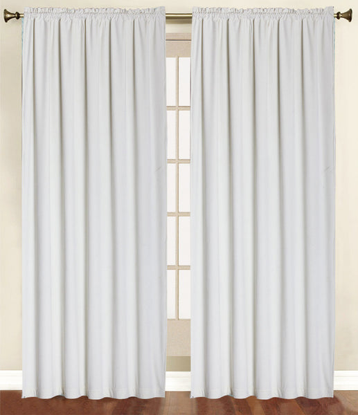 Vera Cruz Velvet Rod Pocket Panel - Panel   054x084 Ivory C41271- Marburn Curtains