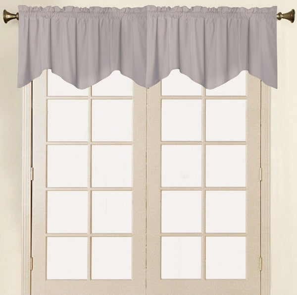 Vera Cruz Velvet Rod Pocket Valance - - Marburn Curtains