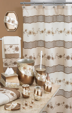 Veronica Fabric Shower Curtain - - Marburn Curtains