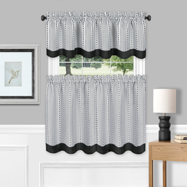 Westport Tier & Valance Set - - Marburn Curtains