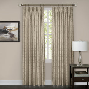 Windsor Pinch Pleat Panel - Panel   Camel 034x063 C37608- Marburn Curtains