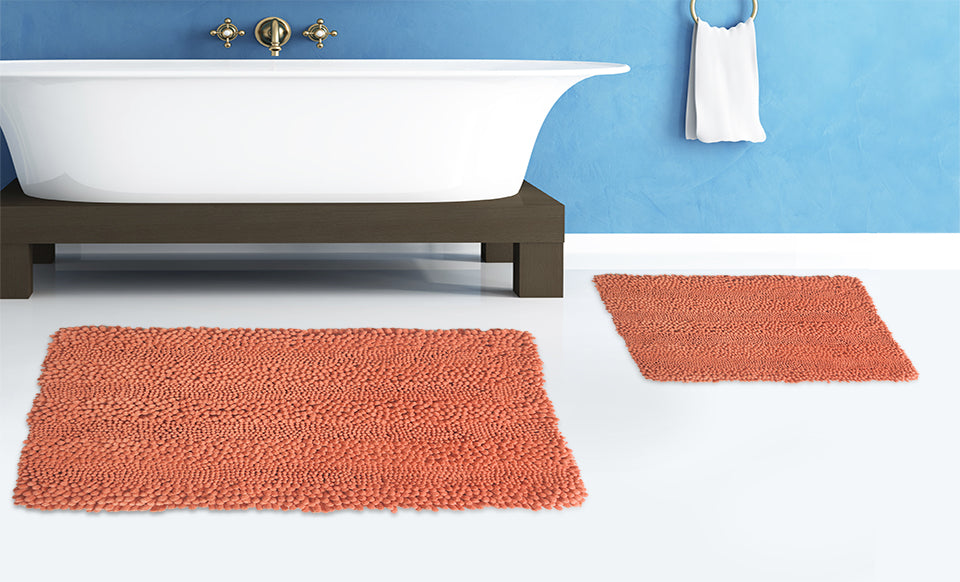 Aldante 2pc Bath Rug Set
