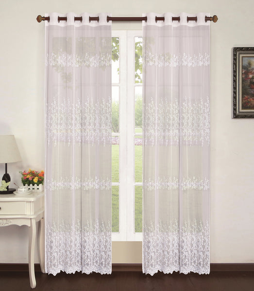 "Amerie Grommet Panel 84"" - Beige C42931- Marburn Curtains"