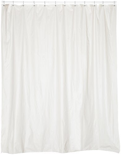 Extra Long 5 Gauge Vinyl Shower Curtain Liner 72x84