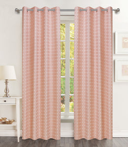 Brandy Grommet Panel - 054x063   Blush C44223- Marburn Curtains