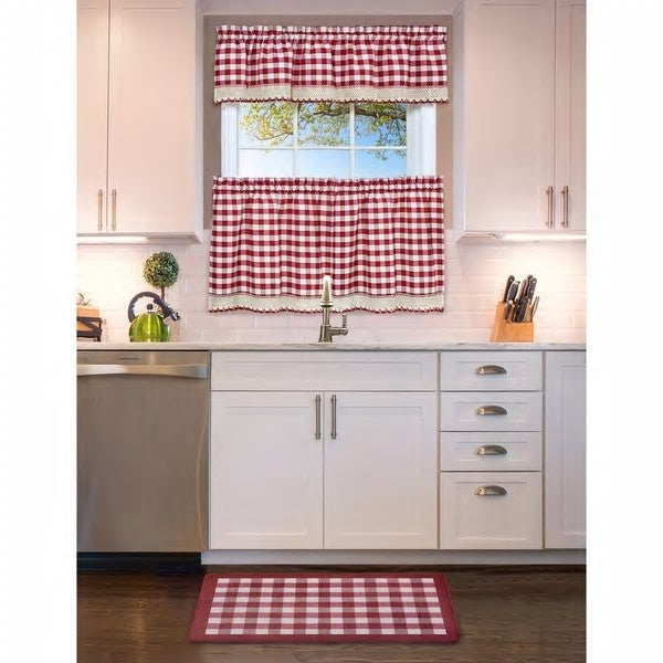 Buffalo Check Anti Fatigue Kitchen Rug