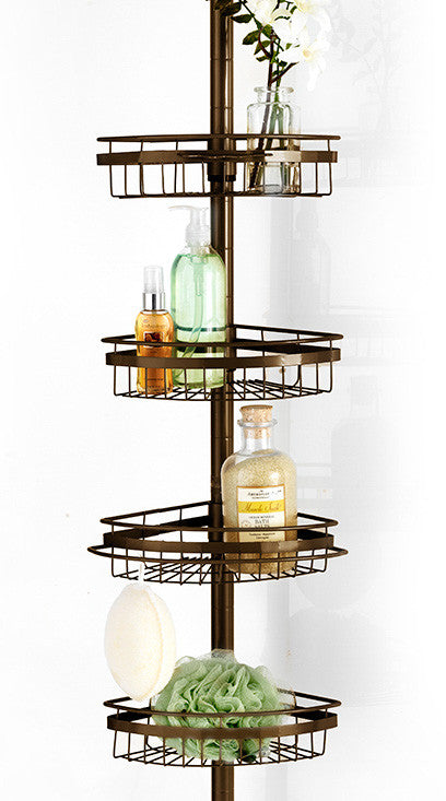 Ultimate 4 Tier Corner Shower Caddy - Oil Rubbed Bronze C38362- Marburn Curtains