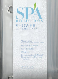 Shower Curtain Liner 100% PEVA 5 Gauge - Clear c44218- Marburn Curtains