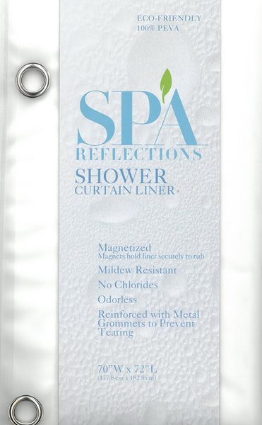 Shower Curtain Liner 100% PEVA 5 Gauge - Frosted C44220- Marburn Curtains