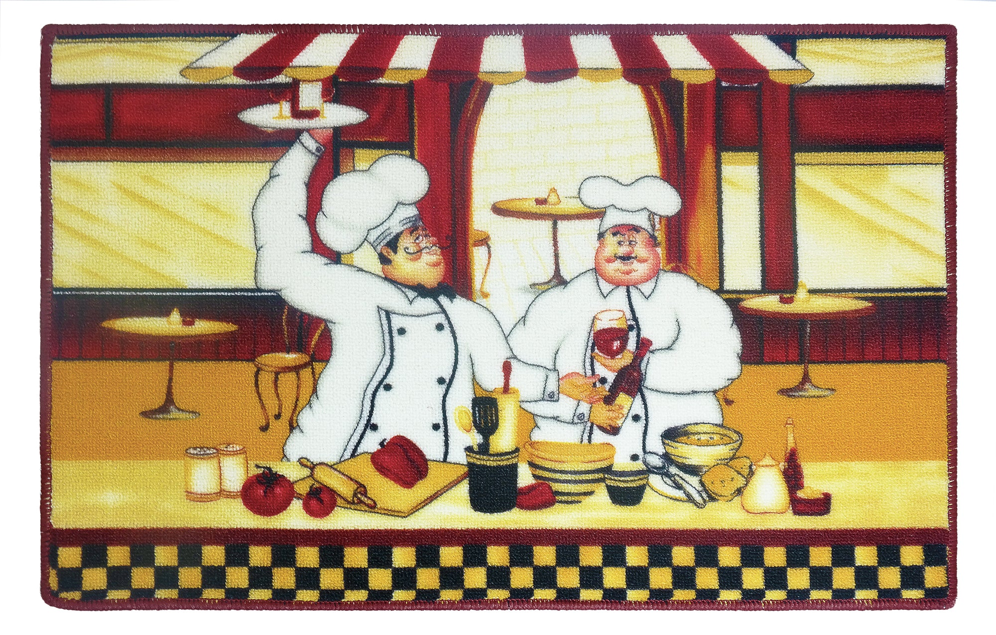 "Chef Kitchen Rug 18""x 30"" - - Marburn Curtains"