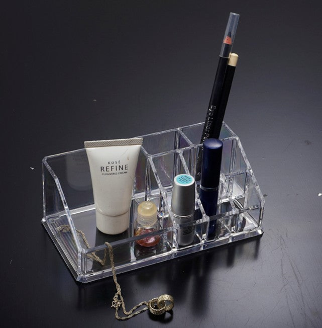 Cosmetic Brush Organizer Clear