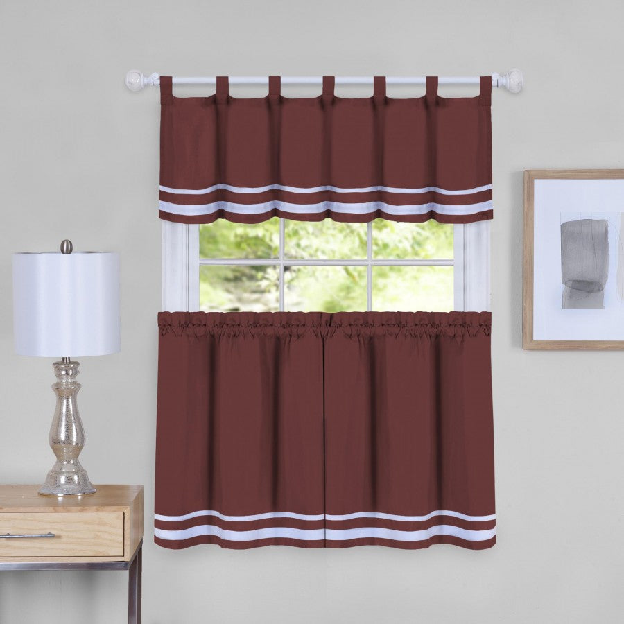 Dakota Tab Top Tier/Valance SET