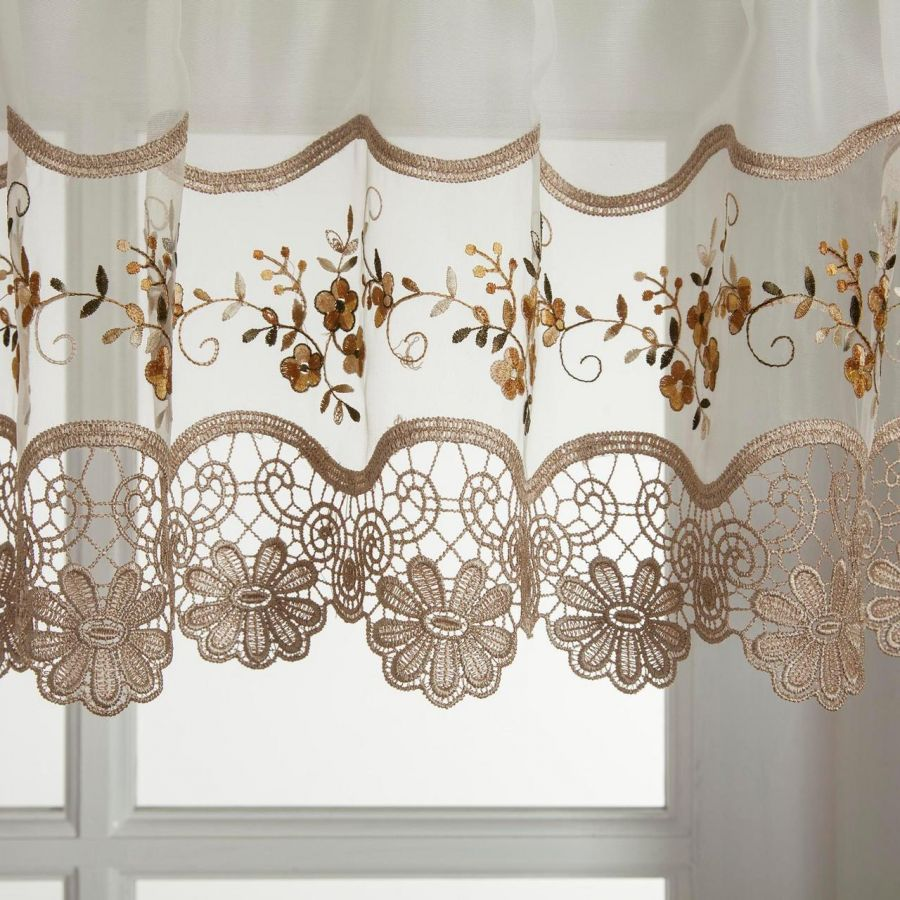 curtains pin shower beautiful bathroom the vintage floret lace what stylish for a delicate curtain