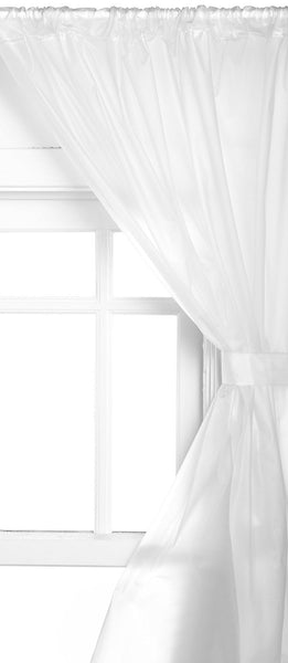 Vinyl Bathroom Window Curtain - 045x036 Frosty Clear C29956- Marburn Curtains