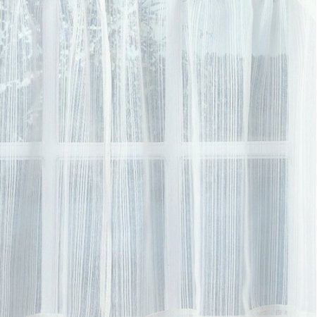 Harmony Sheer Rod Pocket Panel Collection - Swag 056x038 White C28971- Marburn Curtains