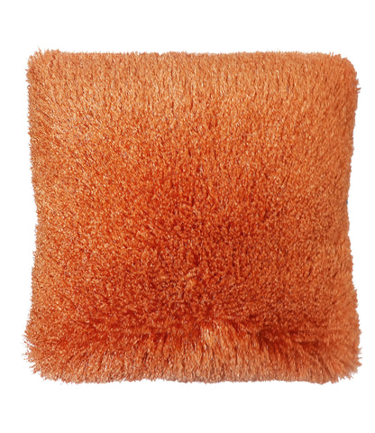 Llama Shaggy Toss Pillow - Orange C41698- Marburn Curtains
