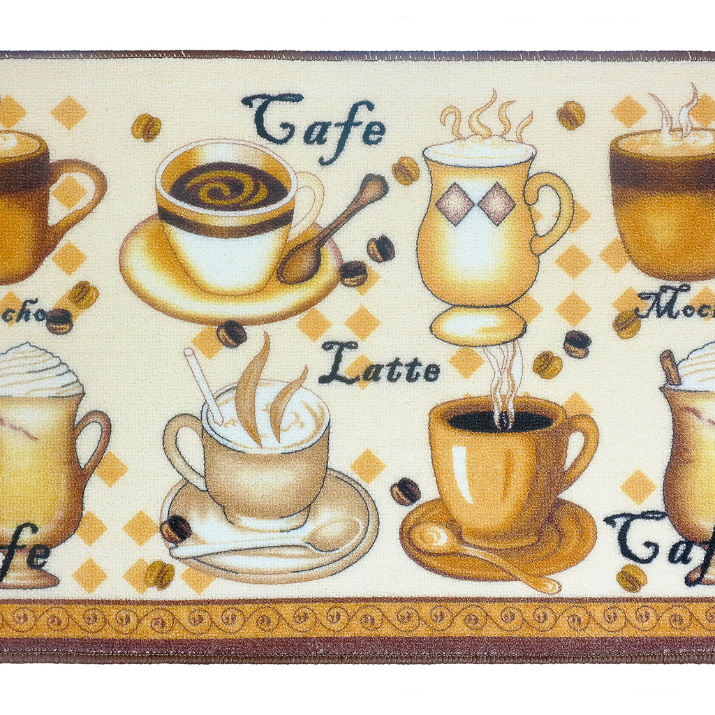 "Latte Kitchen Rug 18""x 30"""