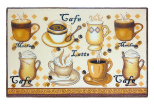 "Latte Kitchen Rug 18""x 30"" - - Marburn Curtains"