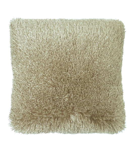 Llama Shaggy Toss Pillow - Taupe C41701- Marburn Curtains
