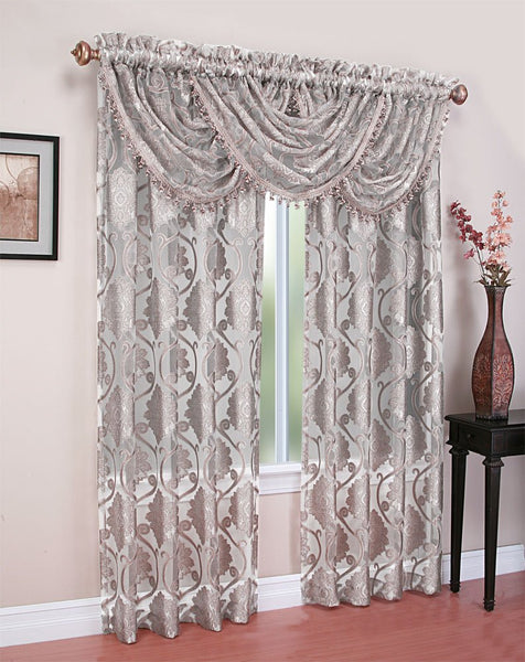 "Milawi Rod Pocket Curtain Panel 84"" - 052x084   Gray  C44694- Marburn Curtains"