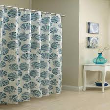 Mosaic Shells Vinyl Shower Curtain