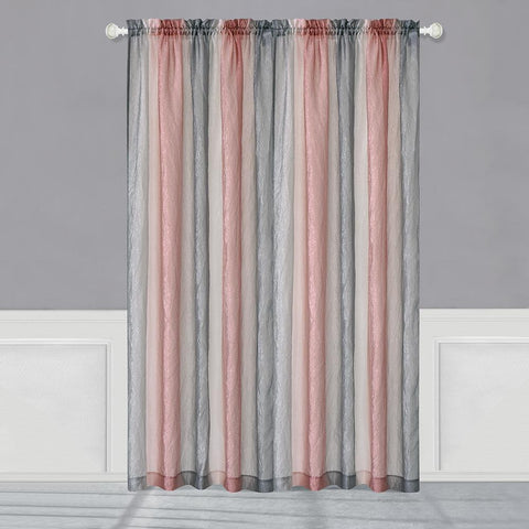 Ombre Rod Pocket Panel Blush - - Marburn Curtains